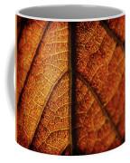 Autumn Veins Coffee Mug