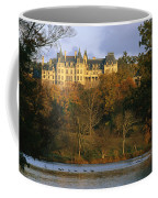 Autumn View Of The Biltmore Coffee Mug by Melissa Farlow