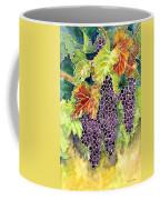 Autumn Vineyard In Its Glory - Batik Style Coffee Mug
