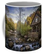 Autumn Water Wheel Coffee Mug