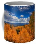 Autumn Wildfire At Ohio Pass Coffee Mug