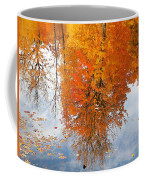 Autumn With Colorful Foliage And Water Reflection 19 Coffee Mug