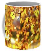 Autumnal Curtain Coffee Mug