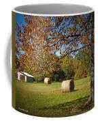 Autumnal Scenery Along Helmstetler Road Coffee Mug