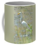 Autumn's Egret Coffee Mug
