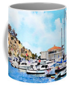 Avalon Casino Harbor, Catalina Coffee Mug