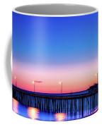 Avila Beach Pier At Sunset Coffee Mug