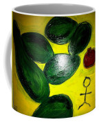 Avocado Man Coffee Mug