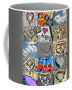 Awesome Hearts - Collage Coffee Mug