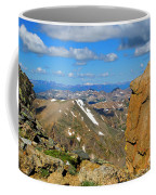 Awesome View From The Mount Massive Summit Coffee Mug