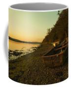 Axe Estuary Boat  Coffee Mug