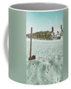 Axe In The Snow Coffee Mug