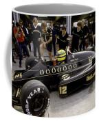 Ayrton Senna. 1986 German Grand Prix Coffee Mug