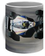 Ayrton Senna - Williams Renault Fw16 Coffee Mug