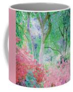 Azalea Flowers And Tree Coral  Coffee Mug