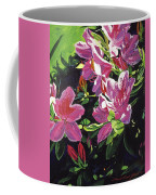 Azaleas With Dew Drop Coffee Mug