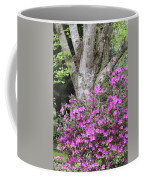 Azaleas With Tree Coffee Mug
