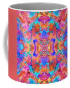Aztec Kaleidoscope - Pattern 015 Coffee Mug