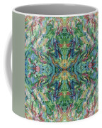Aztec Kaleidoscope - Pattern 018 - Earth Coffee Mug