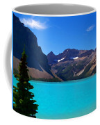 Azure Blue Mountain Lake Coffee Mug