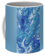 Azure Transfusions Of Ocean Waves Fragment  Coffee Mug