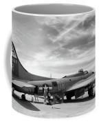 B-17  Black  Coffee Mug