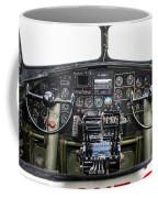 B-17 Cockpit Coffee Mug