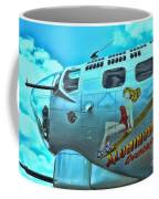 B-17 Aluminum Overcast Pin-up Coffee Mug
