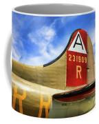 B-17 Tail Wwii Coffee Mug