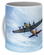 B-17g Flying Fortress In Flight  Coffee Mug