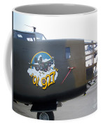 B-24 Nose Art Coffee Mug