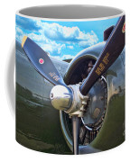 B-25 Engine Coffee Mug