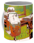 B-25 Red B Coffee Mug