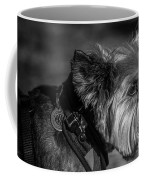 B And W Dog Coffee Mug