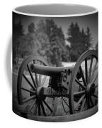 B W Canon Gettysburg Coffee Mug