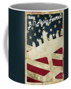 B17 Flying Fortress Vintage Coffee Mug