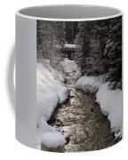 Babbling Brook, Early Spring, Lake Louise, Alberta Coffee Mug