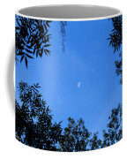 Babcock Wilderness Ranch - Daytime Moon Over Babcock Coffee Mug