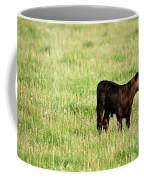 Babe In Dandelions Coffee Mug