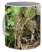 Babes In The Nest Coffee Mug