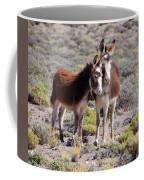 Baby And Mama Burro Coffee Mug