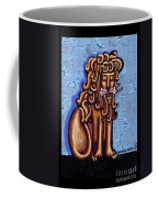 Baby Blue Byzantine Lion Coffee Mug