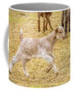 Baby Goat On The Run Coffee Mug