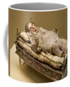 Baby Jesus In Lace Coffee Mug