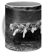 Baby Lions, C1900 Coffee Mug