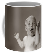 Baby Looking Excited, C.1960s Coffee Mug