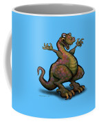 Baby T-rex Blue Coffee Mug
