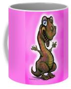 Baby T-rex Pink Coffee Mug