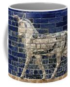 Babylon: Enamel Brick Bull Coffee Mug