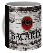 Bacardi Wood Art Coffee Mug